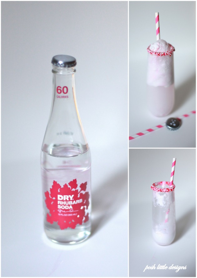 DRY soda valentine's floats