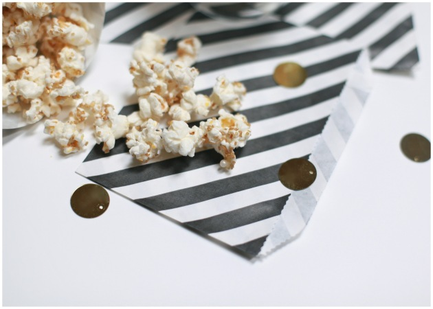 Candied Glitter Popcorn