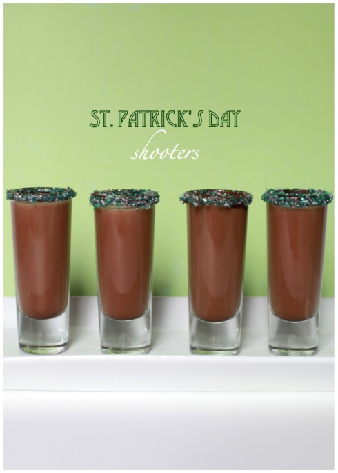 St. Patrick's Day Shooters - Vegan