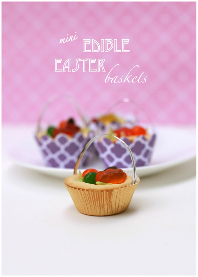 edible Easter baskets DIY