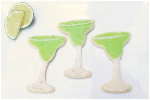 Spiked Margarita Cookie Cutters