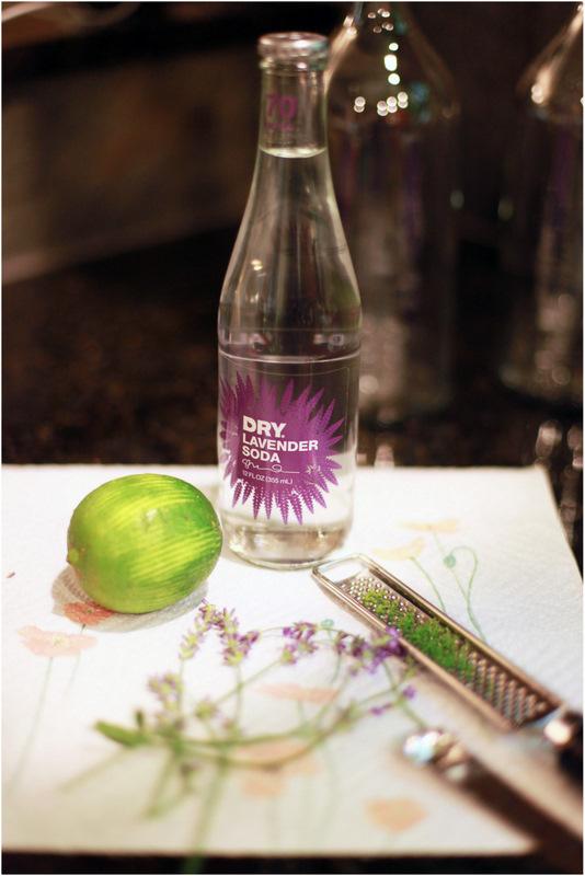 Lavender DRY soda