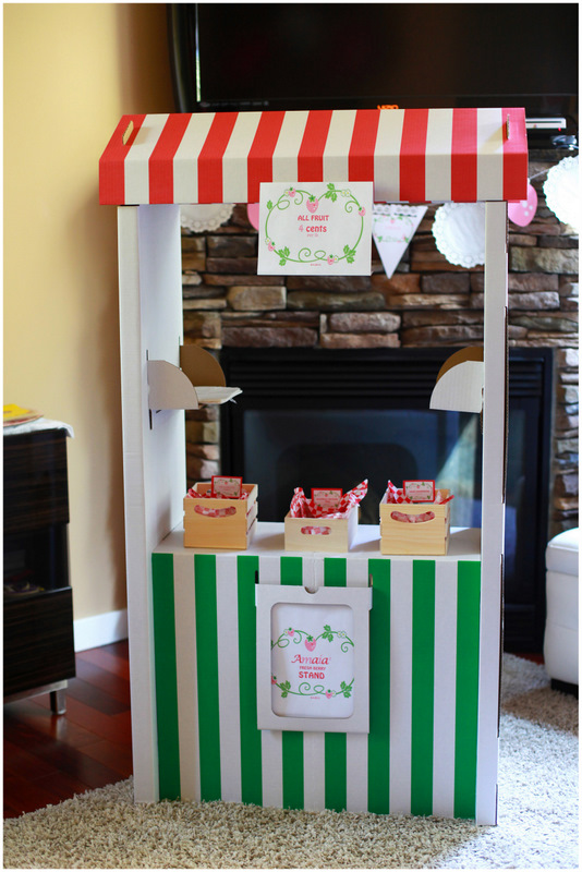 Candy Berry Stand - Posh Little Designs