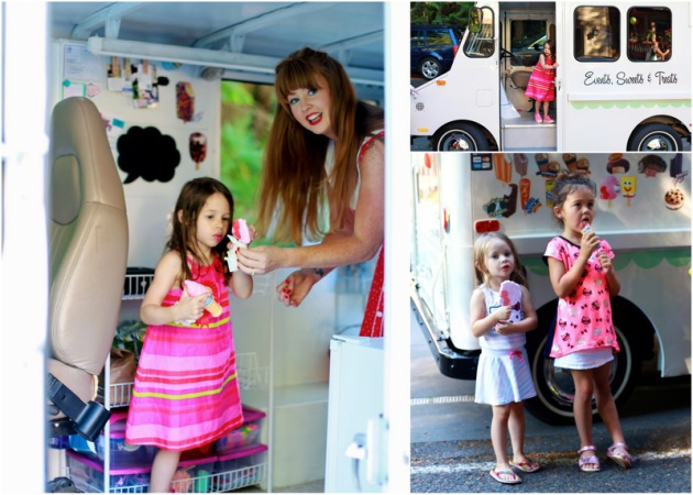 Ice-cream truck fun