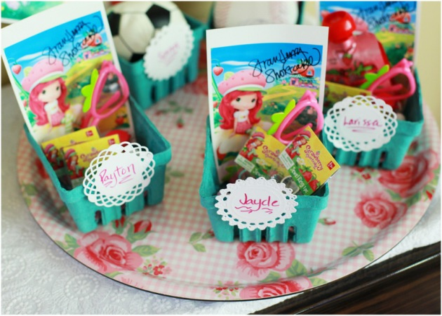 Berry Basket Party Favors - Posh Little Designs