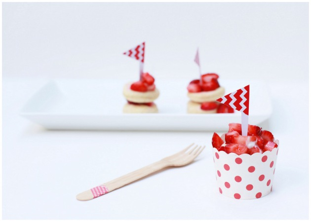 Mini Strawberry Shortcake - PLD