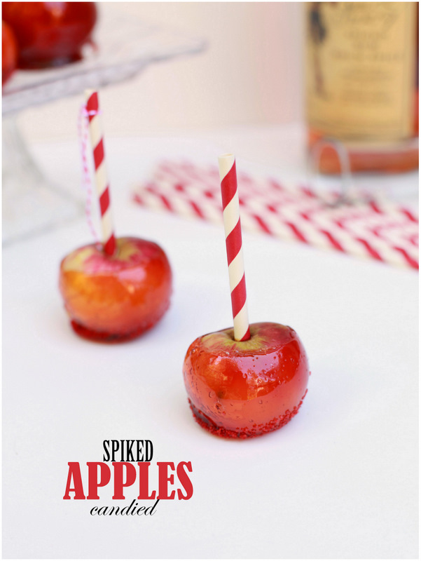 Spiked Candied Apples by PLD