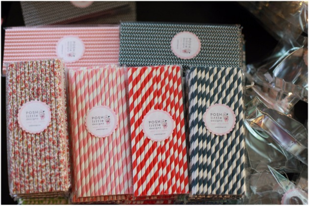 Paper Straws by Posh Little Designs