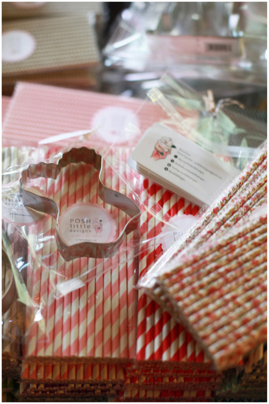PLD Products - Cookie Cutters, Paper Straws