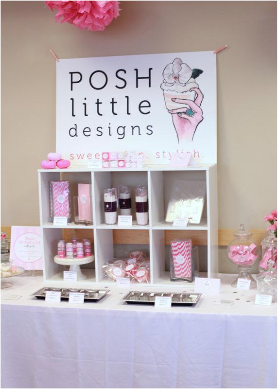 Posh Little Designs - Vendor Space - Mammogram Party 2013