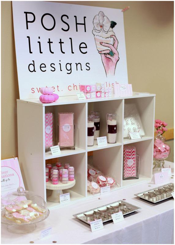 Posh Little Designs - Vendor - Mammogram Party 2013