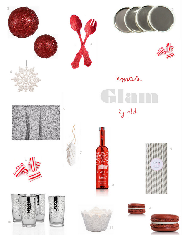 xmas glam - inspiration by PLD