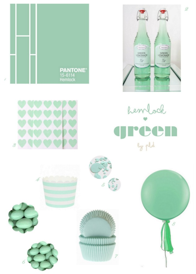 Hemlock Green-Pantone-Inspiration | Posh Little Designs