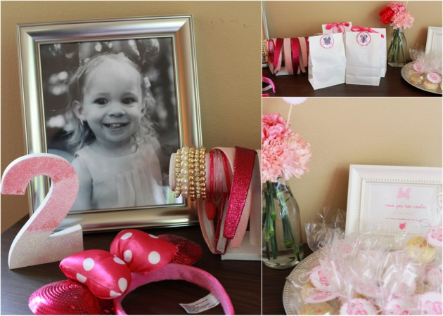 Ombre Minnie Mouse Birthday Party | Posh Little Designs