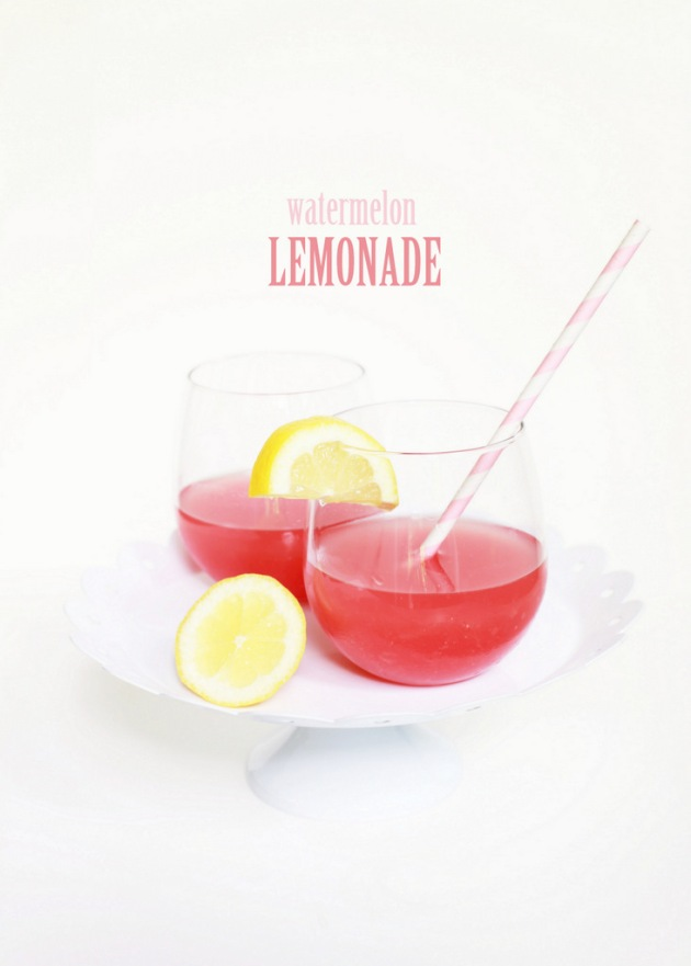 Watermelon Lemonade | Posh Little Designs