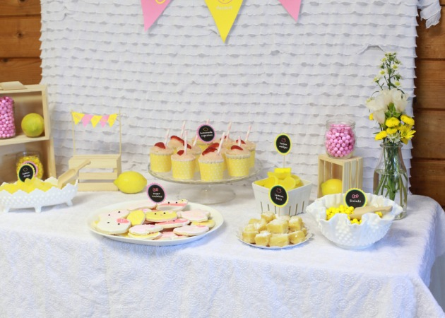 Hello Kitty Lemonade 5th Birthday | Posh Little Designs