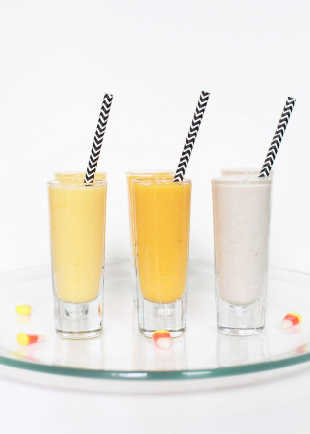 Festive Fruit Smoothies | Posh Little Designs