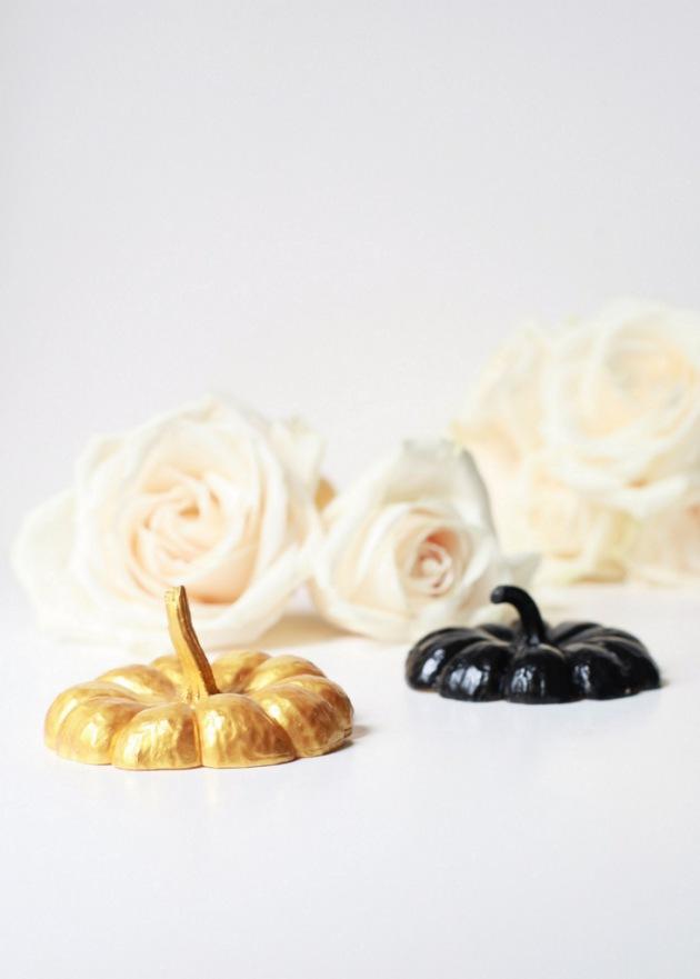 Painted pumpkin vases24