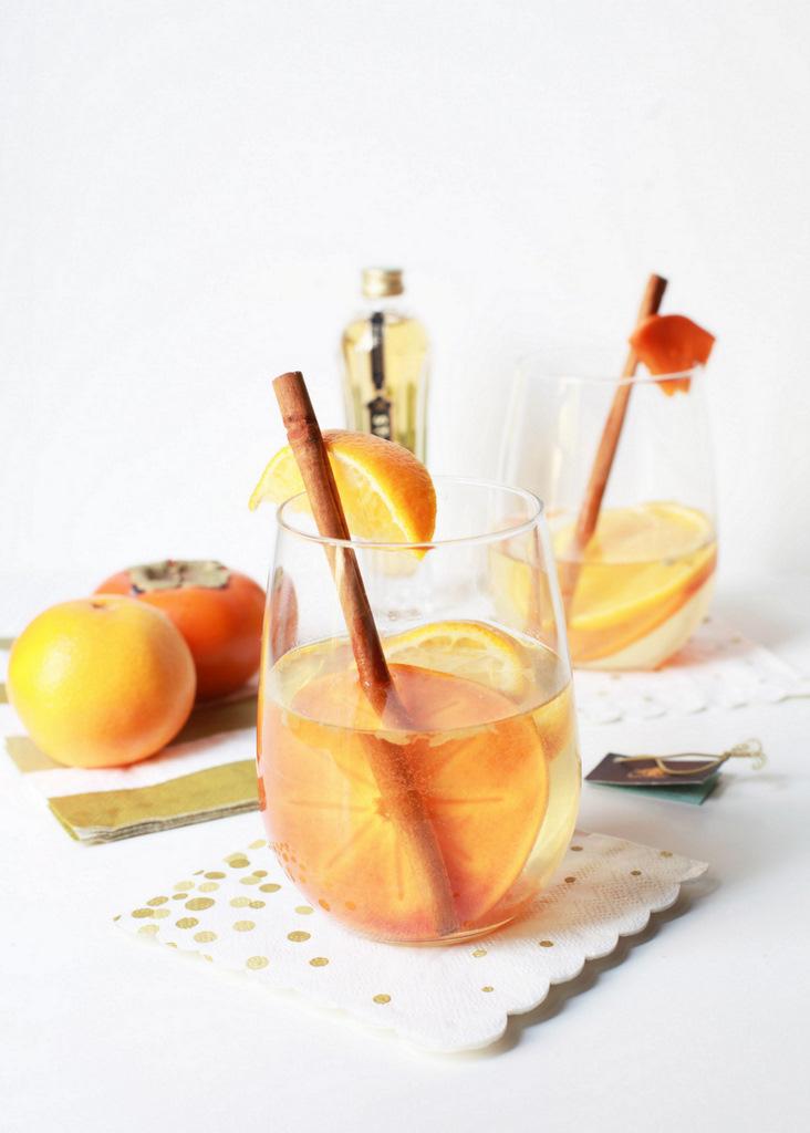 Citrus & Spice Sangria | Posh Little Designs