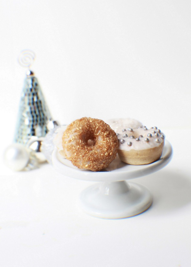 Lemon Cardomom Mini Donuts | Posh Little Designs