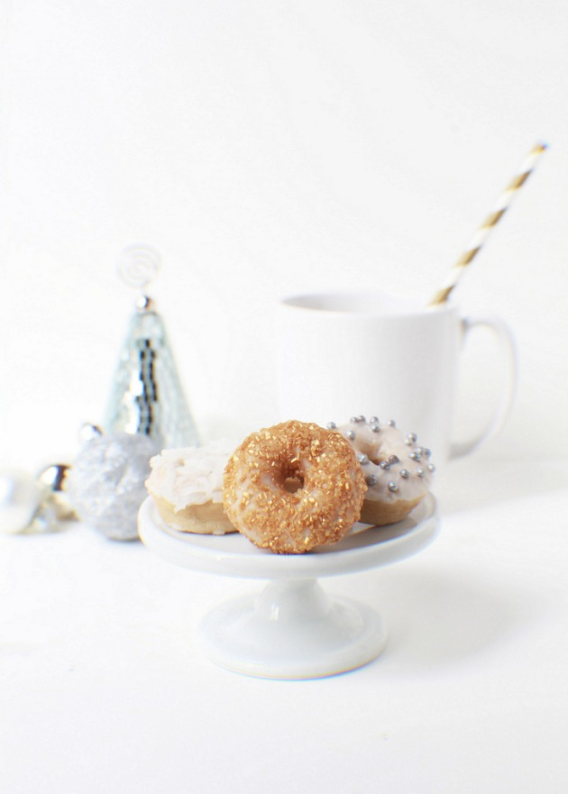 Lemon Cardamom Mini Donuts|Posh Little Designs