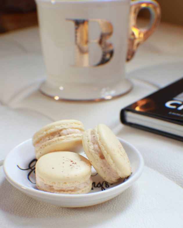 TGIF + Eggnog Macarons | Posh Little Designs