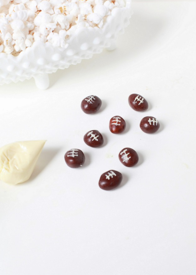 DIY Mini Footballs | Posh Little Designs