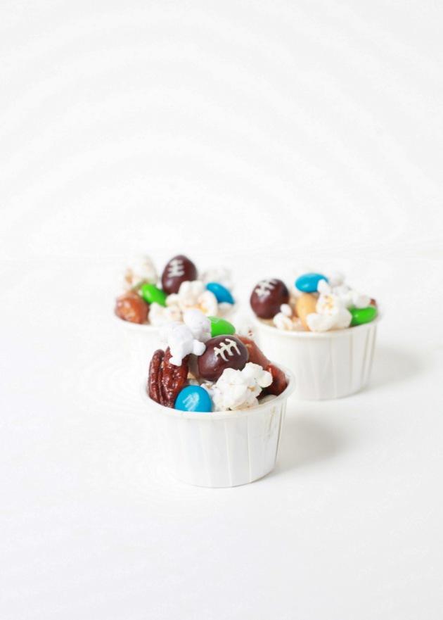 Super Bowl Party Popcorn | Posh Little Designs