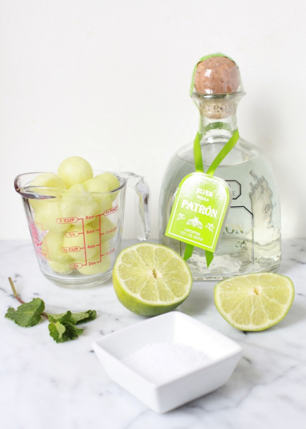 Melon Mint Margaritas - Seahawks 12th Man | Posh Little Designs