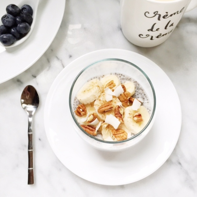 Chia Banana Pudding | Posh Little Designs
